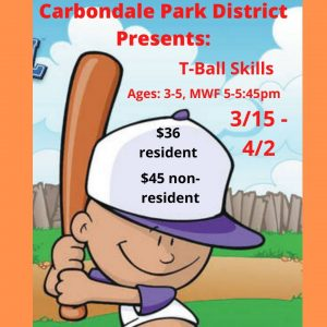 T-Ball Skills Ages 3-5